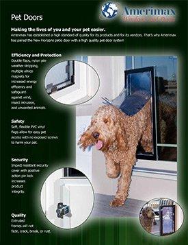 Amerimax Dog Door Brochure