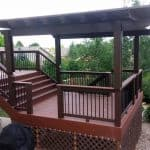 pic of a deck and pergola built in Fort Collins, CO