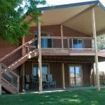 picture of a huge deck and cover built in Loveland, CO
