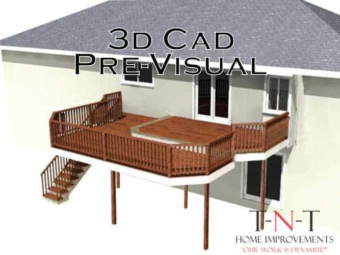 3D CAD deck image comparison