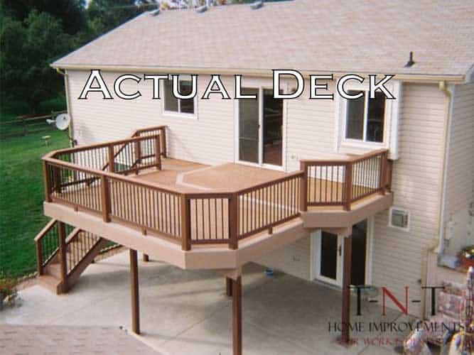 Actual Deck image comparison