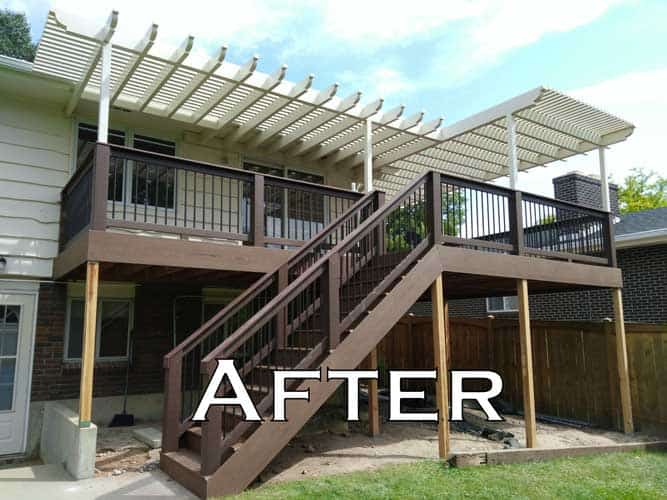 After Deck and Patio cover Image