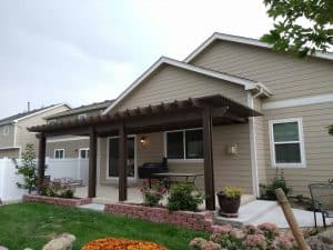 pic of a pergola built in loveland, co
