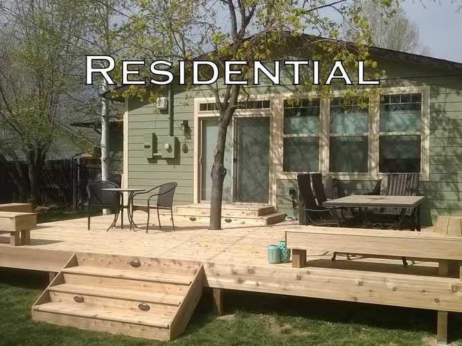 Residential Deck Builders